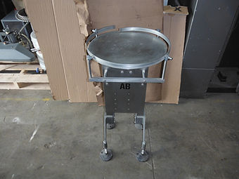 "18"" Mettler Toledo AB Stainless Steel Rotary Accumulation Table, Turn Table, Food, Beverage, Equipment, Machinery"