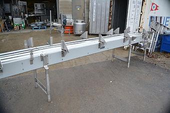 """18"""" Wide Hartness International Mat Top Belt Conveyor with Drive"""