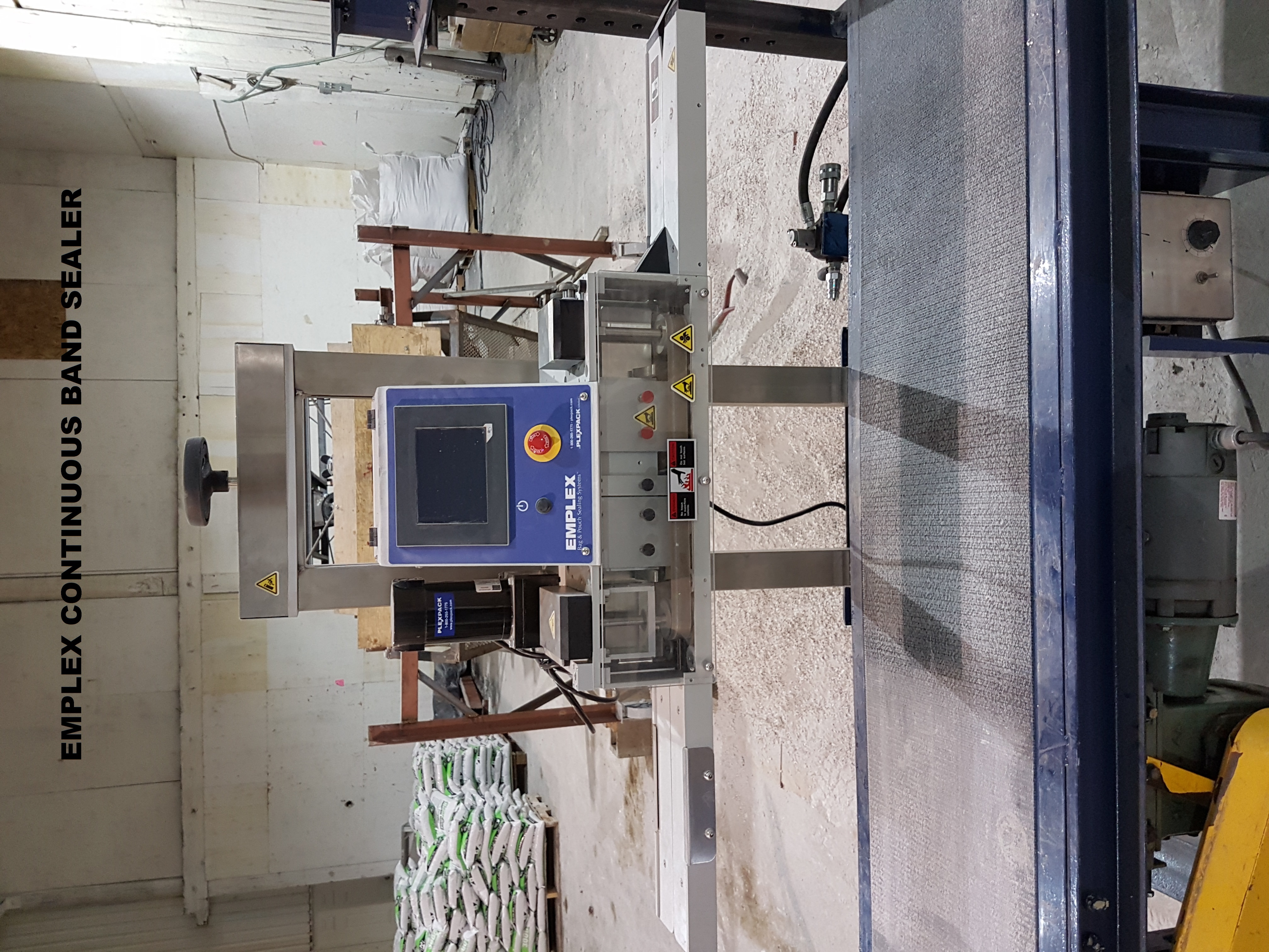 Emplex sealer machine