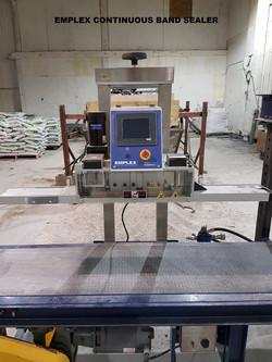 Emplex sealer machine