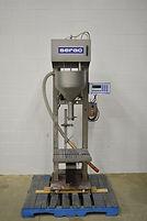 Serac Semi-Automatic Net Weight Scale Filler, 2237, Serac, Filler, Galick Packaging, Filling Line