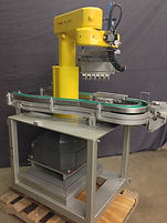 Fanuc A-510 Pick and Place Robot w/ Conveyor and Misc Attachment