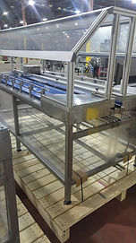 Inno-Tech Bi-Directional Accumulation Table / Mass Flow Conveyor