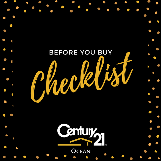Checklist Before You Buy