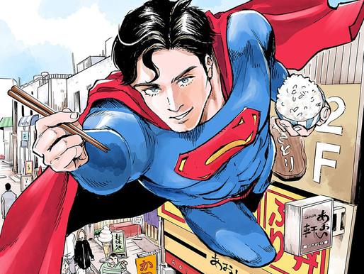 DC's Superman Gets a Gourmet Manga in Kodansha's Evening Magazine