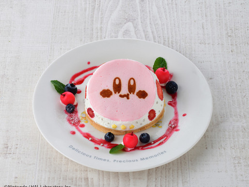 Kirby Cafe brightens the season with its summer menu this July