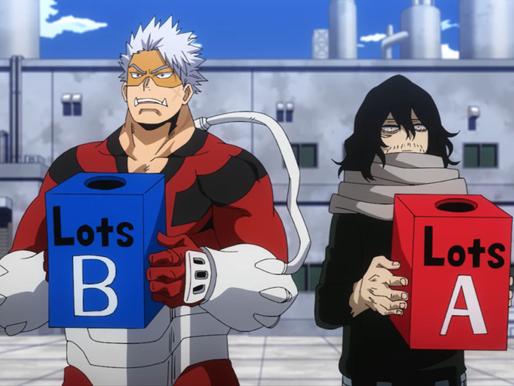 My Hero Academia S5 Episode 3: 1-A versus 1-B Rivalry Returns