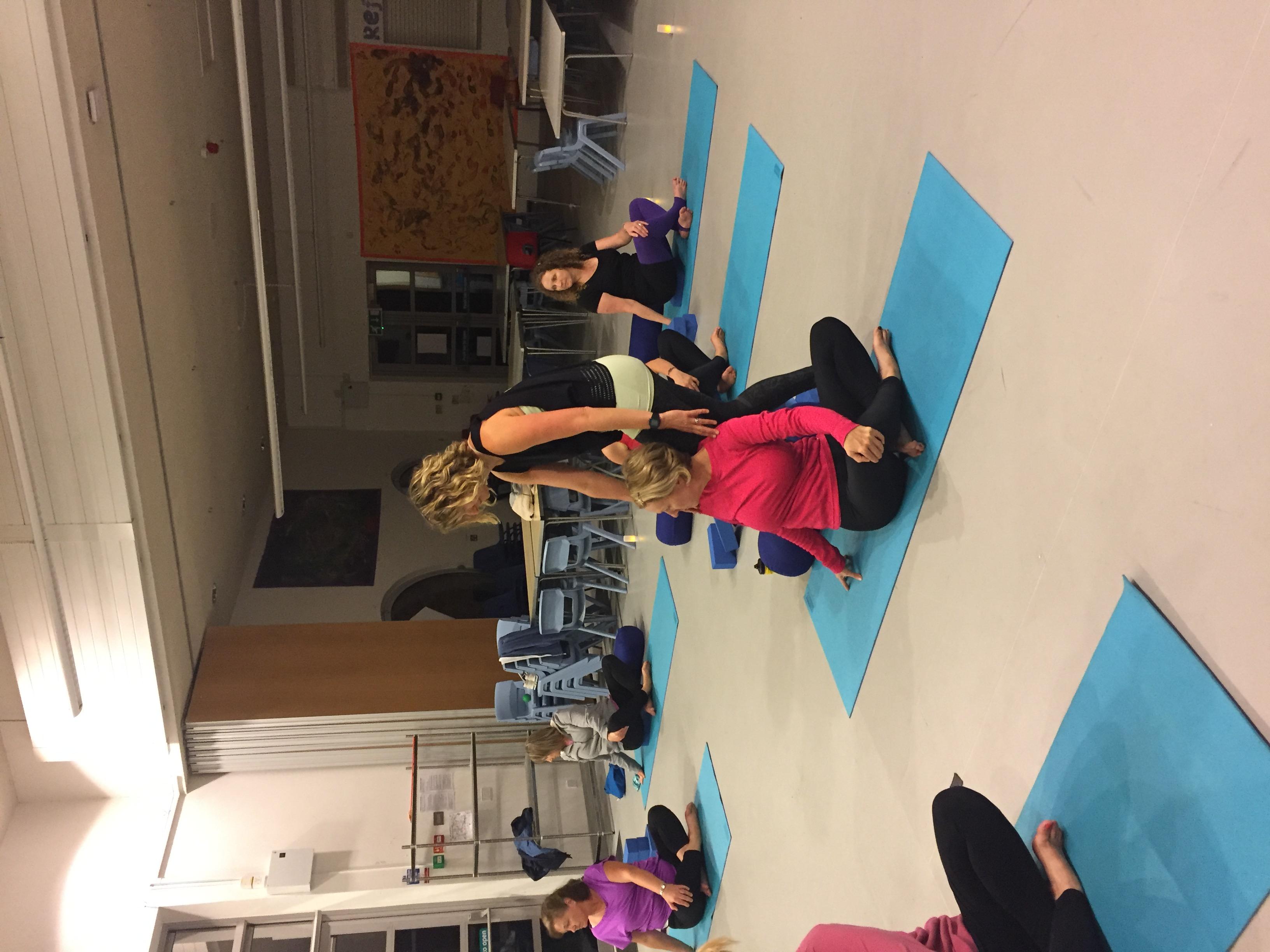 First Yoga Beginners