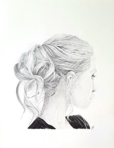 Graphite pencil piece