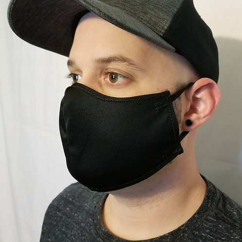 Protective Face Mask - Antimicrobial, Washable