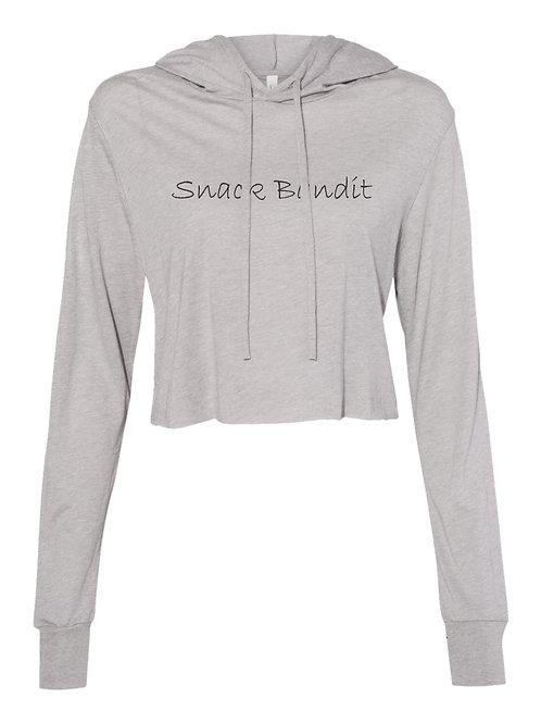 Snack Bandit | Ladies Crop hoodie