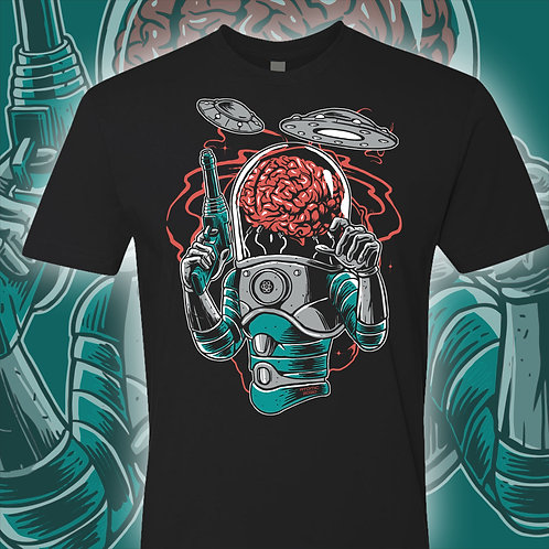 Alien Brain | Graphic T-shirt