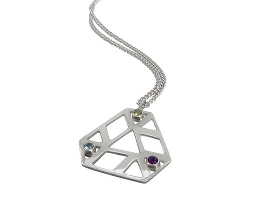 Trinagular Hex Necklace
