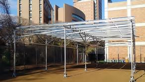 【導入事例】千葉商科大学ソーラーシェアリング実験施設(1号機)