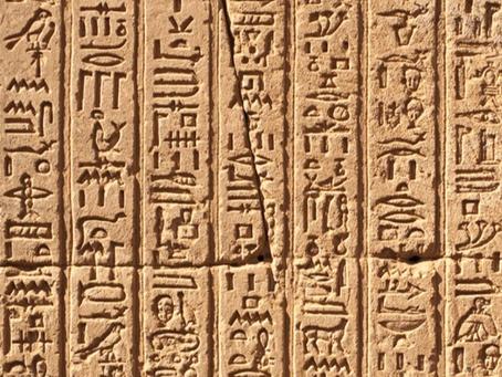 O Hieróglifo enquanto símbolo