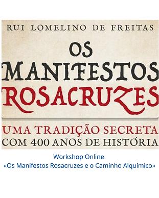 Workshop Online «Os Manifestos Rosacruze