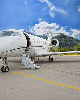 Mid-Size Jet for Air Charter