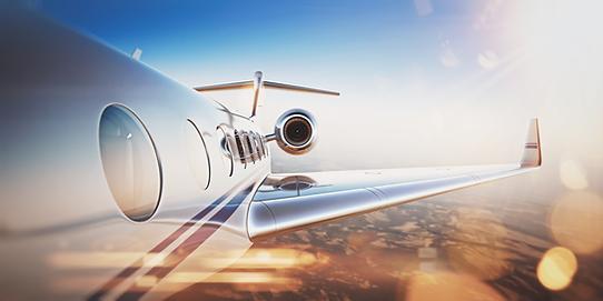 Business Jet Charter Flight