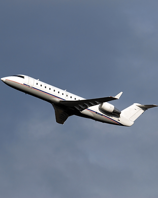 Regional jet air charter for group