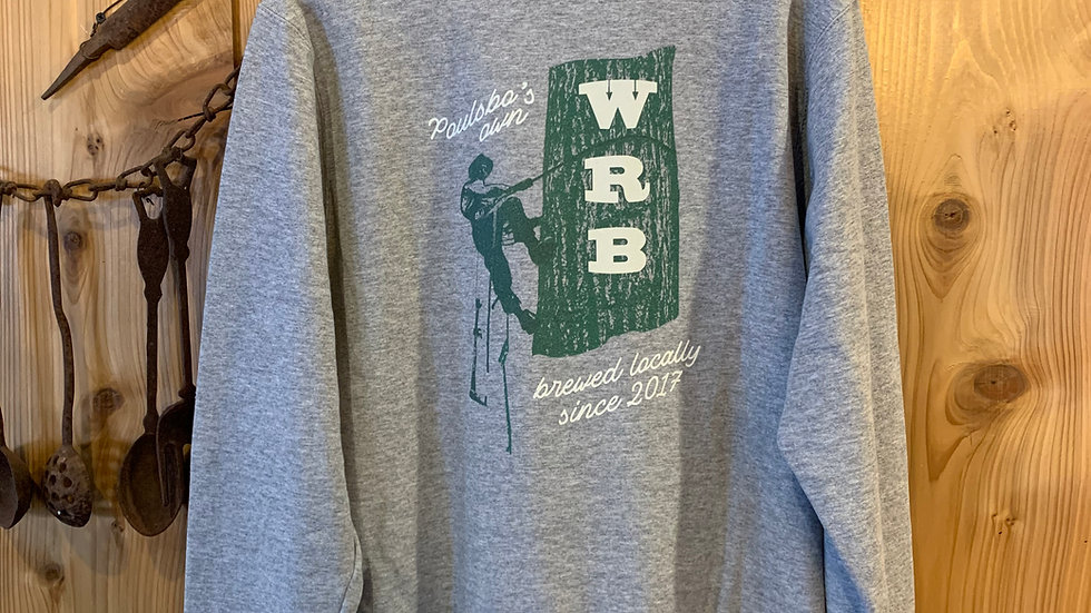 WRB Grey 1/4 Zip