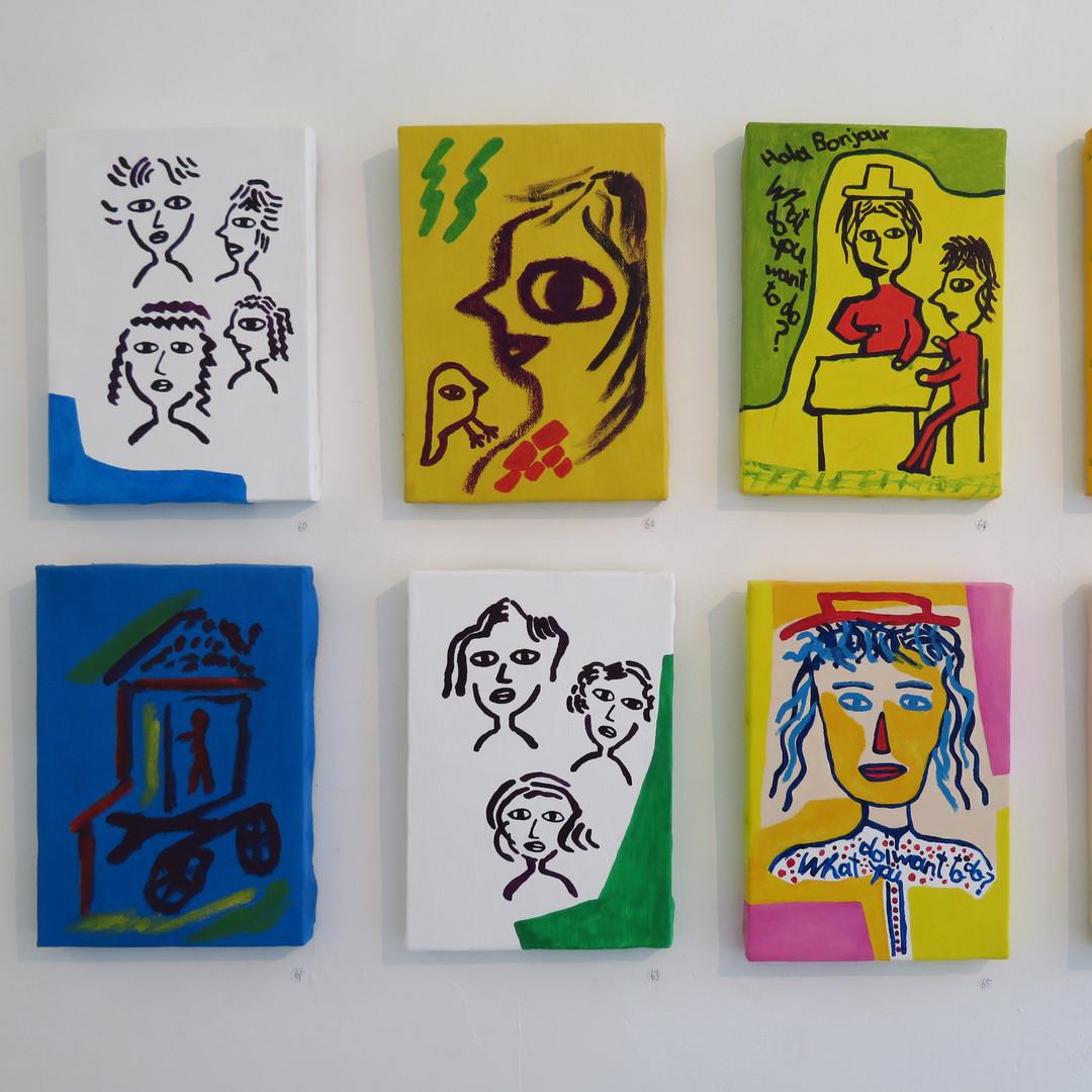 Artworks by Kensuke Shimizu.