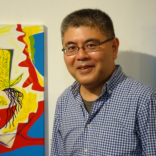 Kensuke Shimizu and his artwork