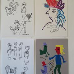 Artworks by Kensuke Shimizu