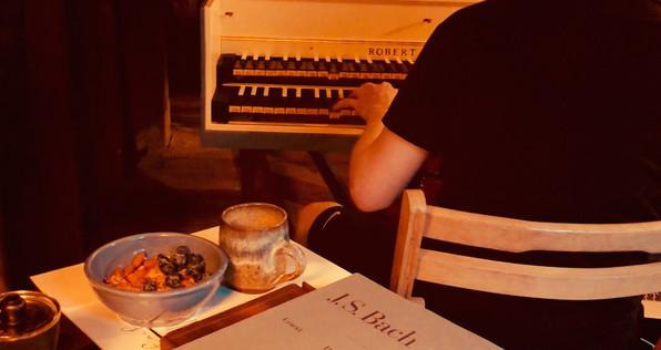 Bach, berries, coffee...Elliot