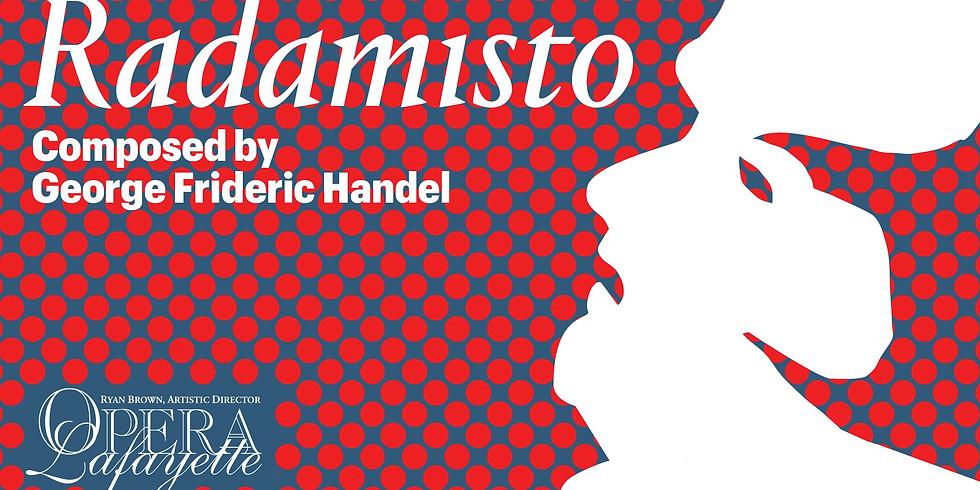 Opera Lafayette: Handel's Radamisto