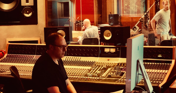 Dave, master engineer and Guilford Sound daddy