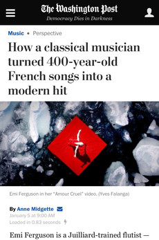 How a classical musician turned 400-year-old French songs into a modern hit
