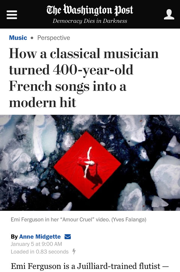 How a classical musician turned 400-year-old French songs into a