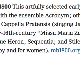 New York Times: 10 Months of Classical Music Concerts You Won't Want To Miss
