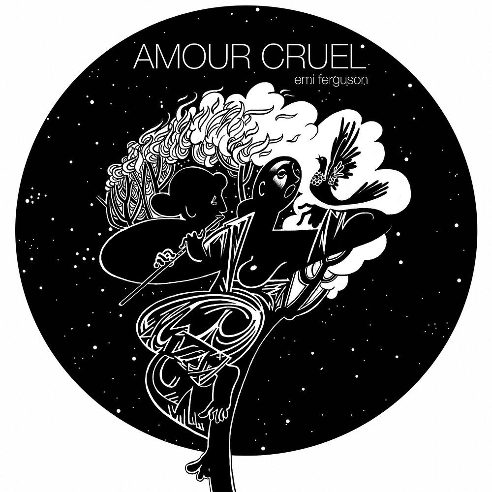 Amour Cruel, Emi Ferguson. Original Artwork by Ivanco Talevski