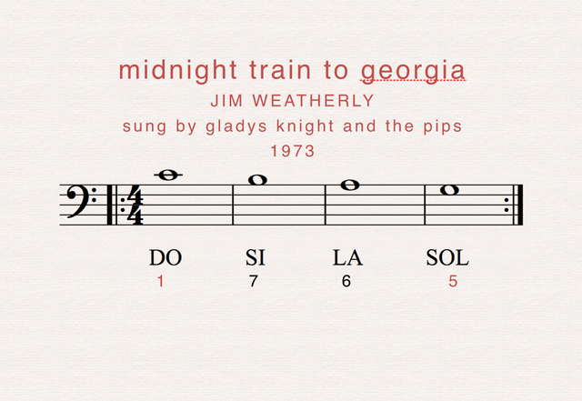 Because he's leaving On the midnight train to Georgia Said he's going back to find A simpler place in time