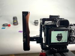 BTS Zeiss Primes Product Shoot