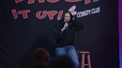 Ritu Chandra Preforming at Laugh it Up in Poughkeepsie, NY