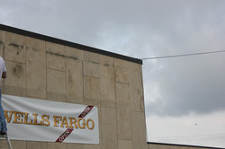 Wells Fargo exterior wall