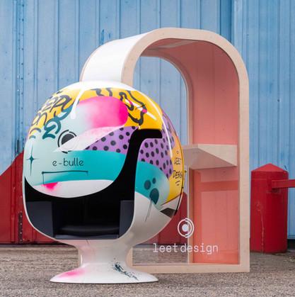 Leet design - Arche et e-bulle