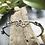 Thumbnail: Fairy bracelet, citrine & diamond - sterling silver