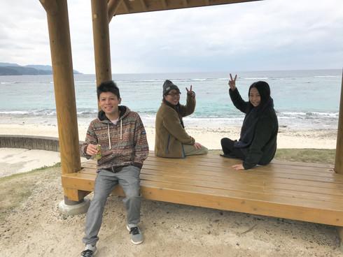 2020祝☆海と大島紬とお客様( *´艸`)