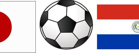 6/12(火)22:05国際親善試合日本代表 - パラグアイ@チボリ シュタディオン