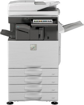 Refurbished - Sharp MX-3050 Commercial Color Copy - Print - Scan 4-Drawers (0)
