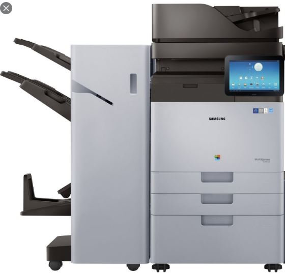 Refurbished - Samsung X7600GX Xpress Color Copy - Print - Scan 4-Drawers (1)
