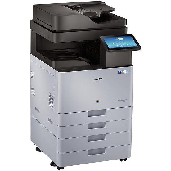 Refurbished - Samsung Xpress X7600GX Color  Copy - Print - Scan - 4-Drawers (1)