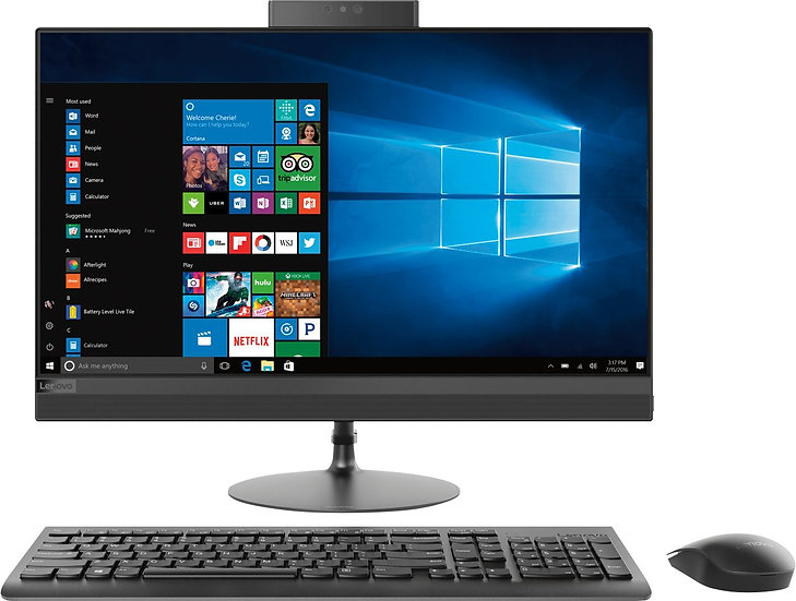 """Refurbished - Pentium - Lenovo ThinkCentre 23.8"""" AOI 520 All-In-One PC (1)"""