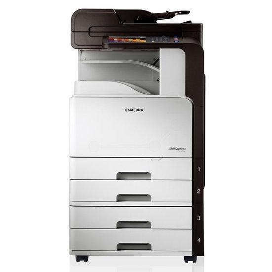 Refurbished - Samsung 8128 MultiX B/W Copy - Print - Scan - 2 Paper Drawers (1)