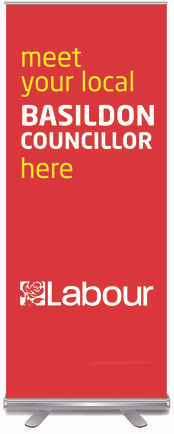 Banner stands for Labour