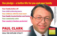 Wallet cards for Labour MPs & Cllrs