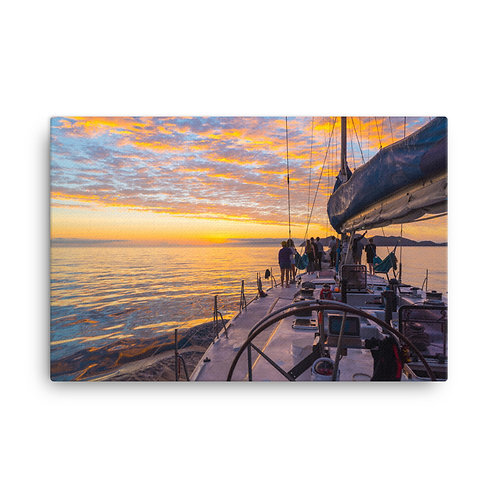 Whitsundays Sailing [Canvas Print]